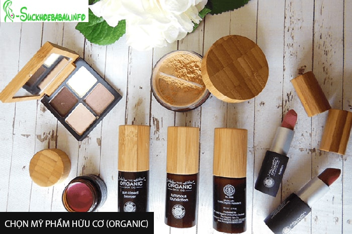 Chọn mỹ phẩm hữu cơ (Organic) cho phụ nữ mang thai