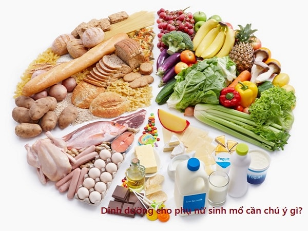 Dinh dưỡng cho phụ nữ sau khi sinh mổ cần chú ý gì? 4