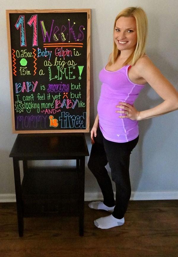 Những lưu ý khi thai nhi 11 tuần tuổi mẹ bầu cần biết