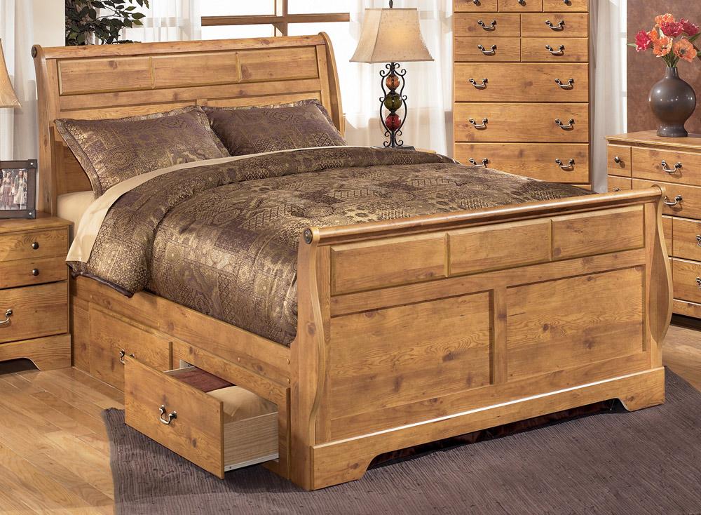 Giường ngủ có ngăn kéo hiện đại trẻ trung