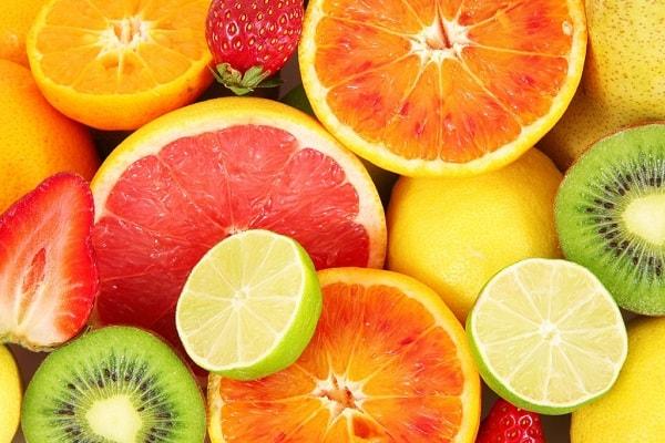 Hoa quả giàu hàm lượng vitamin tốt cho da