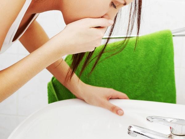 Phụ nữ bắt đầu có dấu hiệu ốm nghén