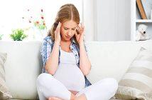 đau đầu trong 3 tháng cuối thai kỳ
