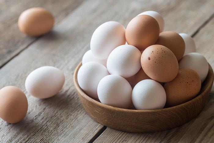 Ăn trứng gà thường xuyên giúp tăng kích thước vòng một hiệu quả
