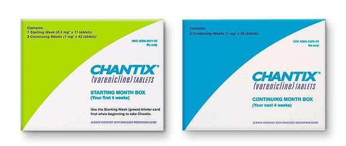 Các loại thuốc kê đơn như chantix giúp bạn bỏ thuốc dễ dàng hơn