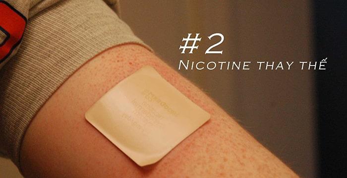 Sử dụng nicotine thay thế là phương pháp đơn giản giúp cắt cơn thèm thuốc lá