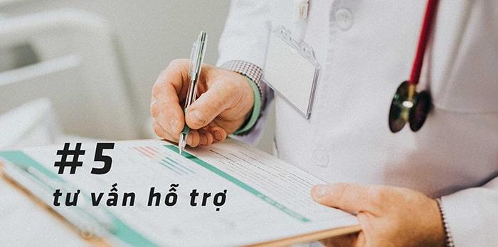 Hãy nhận tư vấn của bác sĩ hoặc người có kinh nghiệm để cai thuốc hiệu quả hơn.
