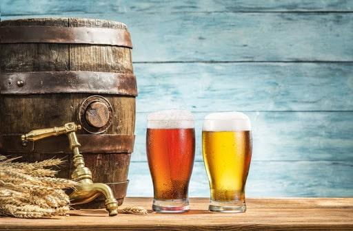 Nhiệt độ thích hợp bảo quản bia thường là 3.33 độ C