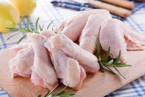 Thịt gà chứa nhiều sắt