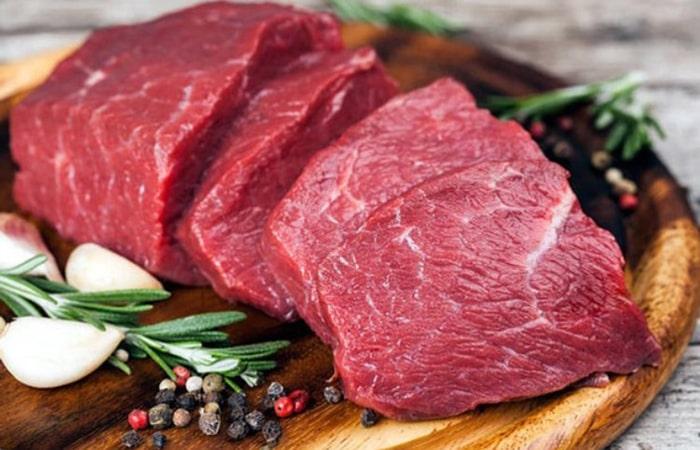 Thịt bò và thịt nạc