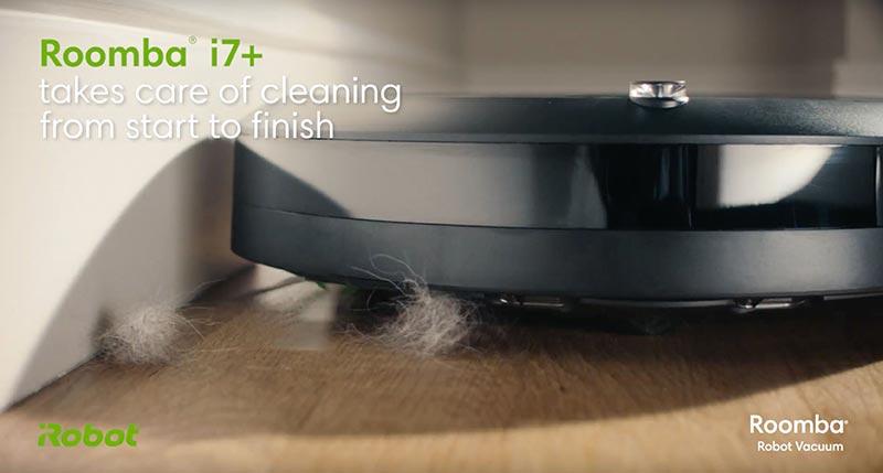 IRobot Roomba i7 an toàn với gia đình có vật nuôi