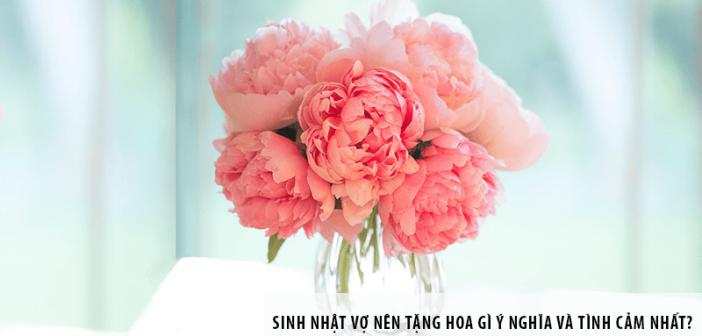Sinh nhật vợ nên tặng hoa gì ý nghĩa và tình cảm nhất?