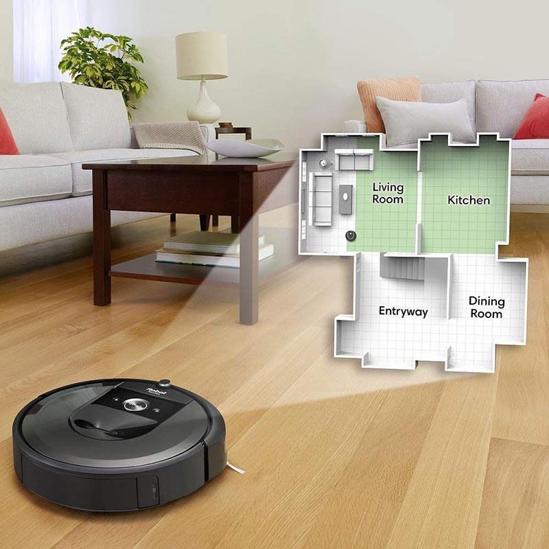 IRobot Roomba i7 có khả năng vệ sinh theo phòng