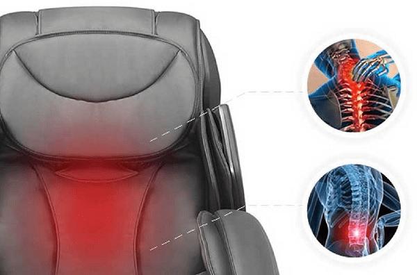 Tác dụng của ghế massage hồng ngoại