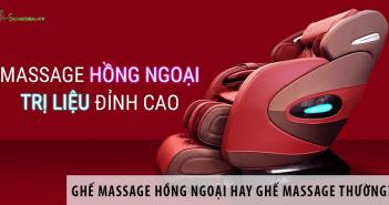 Ghế Massage Hồng Ngoại Hay Ghế Massage Thông Thường?